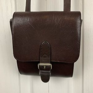 The Limited Leather Crossbody Bag